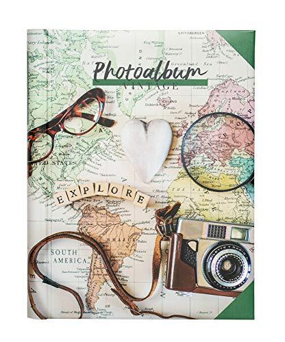 Erik - Album photo - 24x32cm 30 pages adhésives - Travel Vintage