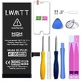 LWMTT Batterie Haut Capacité Interne Compatible pour iPhone 6S Plus 4100mAh Batterie Lithium-ION...