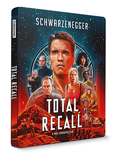 Total Recall [4K Ultra HD Blu-Ray Bonus-Édition boîtier SteelBook]