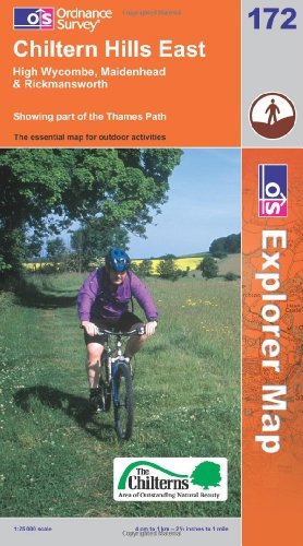 OS Explorer map 172 : Chiltern Hills East