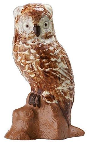 08#021621 Schokolade, Vollmilch, Tiere, Eule groß, Geschenk, Tierliebhaber, Voliere, Ornithologe,