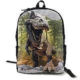 Mochila para ordenador portátil, mochila de libro, mochila de dinosaurio, mochila de viaje, mochila de camping, bolsa de hombro para adolescentes, hombres y mujeres