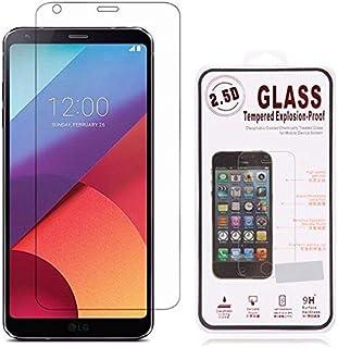 واقي شاشة شفاف مقاوم للانفجار لهاتف إل جي G6