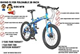 MDS UNLIMITED CYCLES Rhino Flyer 20 Inch Fat tyre Foldable Children Cross Country