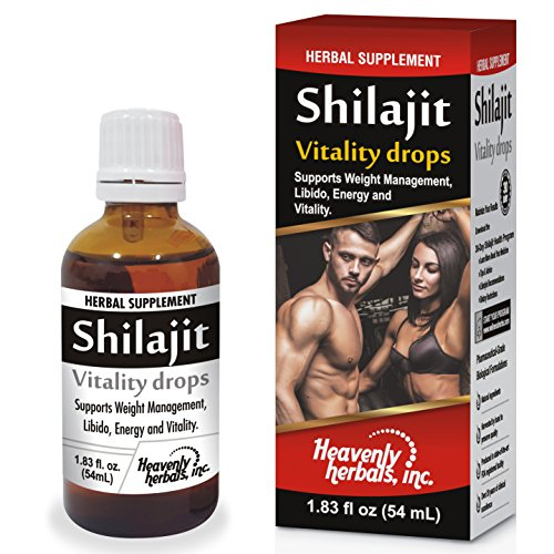 Shilajit Drops, Supports Weight Man…