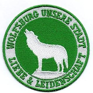 Wolfsburg - Aufnäher Bügelbild Stickbild Sportabzeichen Iron on Patch