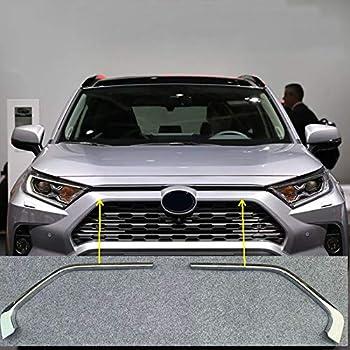 Kohlefaserfarbe HIGH FLYING f/ür RAV4 Bj 2019 2020 Passt Nicht zur RAV4 Basis Exterieur Nebelscheinwerfer Dekor ABS Kunststoff 2 St/ück