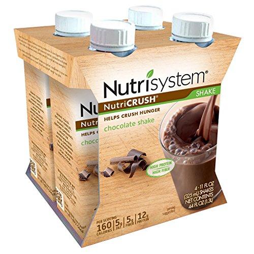 Nutrisystem® NutriCRUSH® Chocolate Shakes, ready to drink (RTD), 12...