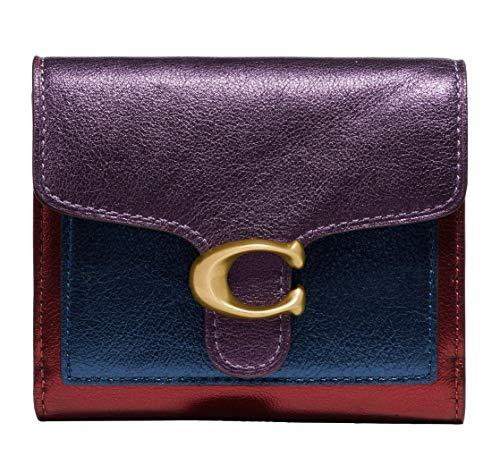 Coach Women`s Tabby Small Wallet In Color block (Brass(79422)/Multi, One...