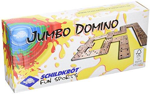 Schildkröt Funsports Jumbo Domino FSC Eco Holz XL Garten, 970114