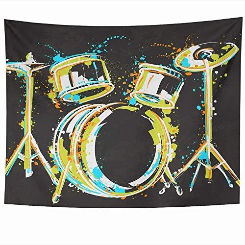 Tapices para colgar en la pared Papel Pintura violeta Tarde Lluvia gris Invitaciones Acuarela Ombre Wash Noche Telón de fondo abstracto Tapiz Manta de pared Decoración del hogar Sala de estar Dormitor