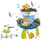 Garten-Spielzeug-Set, Fairy Garden Magic Lodge DIY Spielhaus, Kinder Feld Science Education...