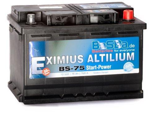 Autobatterie 12 V 75 Ah BS-75 Starterbatterie für PKW