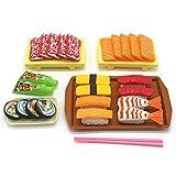 Ruby569y Juego de juguetes de simulación, juego de cocina de sushi de simulación, juego de simulación para cocina, educación para niños, juguete para sushi