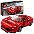 LEGO Speed Champions 76895 Ferrari F8 Tributo Toy Cars for Kids, Building Kit Featuring Minifigure, New 2020 (275 Pieces) from LEGO