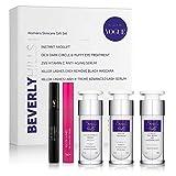 Beverly Hills - Kit Facial Antiedad para Mujer: Lifting Facial Instantáneo, Sérum Antiedad, Tratamiento para las Ojeras y las Bolsas de los Ojos, Sérum Pestañas y Rímel Negro