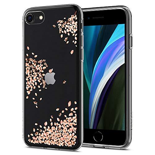 Spigen Liquid Crystal Blossom Kompatibel mit iPhone 8 und Kompatibel mit iPhone 7 -Crystal Clear