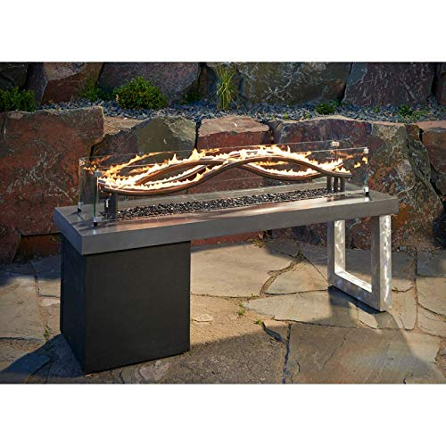 Great Price! Jur_Global Glass Guard for Wave Fire Pit