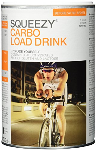 Squeezy Carbo Load Drink, 500 g, Zitrone