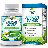 African Mango - Mango Africano 6000mg, Brucia Grassi Forte, 90 Pillole Dimagranti, Ideale per Perdere Peso, Ingredienti Naturali