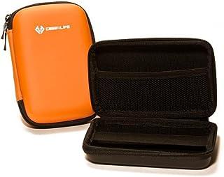 Case4Life Orange Stoßfest Hardcase Kameratasche für Sony Cybershot HX50, HX50V, HX60, HX60V, HX90V