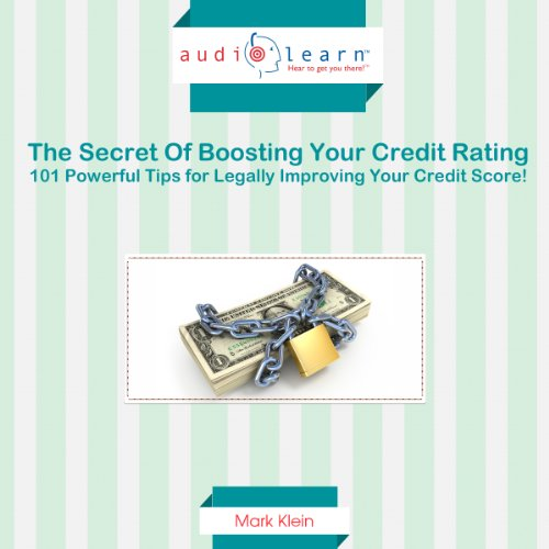 Fix Your Credit AudioLearn audiobook cover art