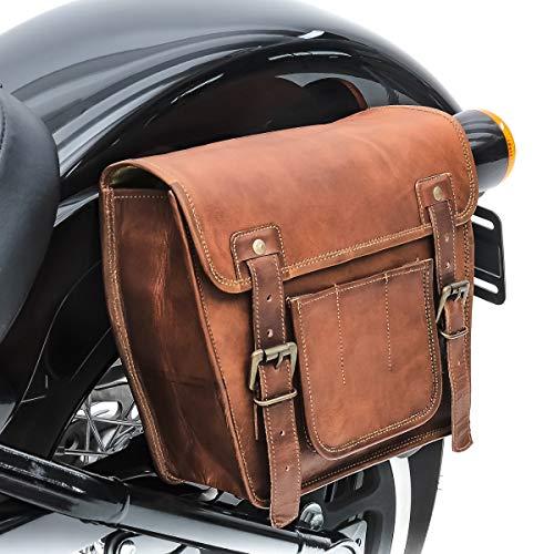 mächtig Vintage Satteltasche für Triumph Thunderbird / Storm Craftride SV4br
