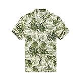Hawaii Hangover Camisa Hawaiana de los Hombres Camisa Hawaiana M Hojas de árbol de Pan en...