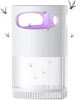 KIKIGO Lámpara Mosquito Electrico Multi-Insecto,Lámpara Antimosquitos USB Sin Radiación, Repelente De Mosquitos Doméstico, Lámpara Led Antimosquitos-Blanco