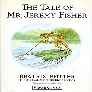 Tale of Mr. Jeremy Fisher audiobook cover art