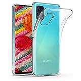 Funda para Samsung Galaxy A71 5G, protección Contra Caídas, Antideslizante, TPU con Samsung Galaxy A71 5G, Funda Ultra Fina para Samsung Galaxy A71 5G (Transparente)