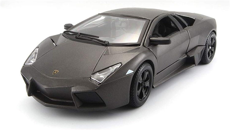 en venta en línea JXJJD Modelo de Coche Lamborghini 1 24 simulación simulación simulación de aleación ensamblado Modelo de Coche de Juguete, Modelo Deportivo de Reventon  venta al por mayor barato