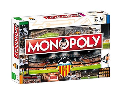 Valencia CF Monopoly (81410), Multicolor, Ninguna (Eleven Force