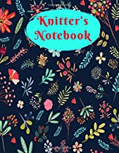 Knitter's Notebook: Knitting Lined Blank Notebook Journal   100 Pages Size: 9 X 6 Inches   Jot Doodle Embroidery Notes & Punch Needle Ideas (Yarn Patterns)