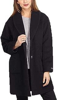 Derek Lam 10 Crosby Ladies' Pea Coat (Black, Medium)