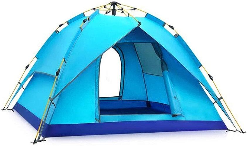Outing Udstyr, Tente de Loisirs Faite de Tissus Double Couche Unisexe Peut Accueillir 2-3 Personnes Convenant Aux Trois Saisons, Kejing Miao, 6.31E + 09