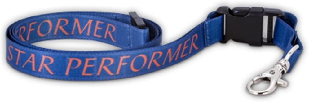 PinMarts Star Performer Full Color Lanyard w//Safety Release