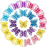 PAGOW 24 Pieces Mini Butterfly Hair Clips Hair...