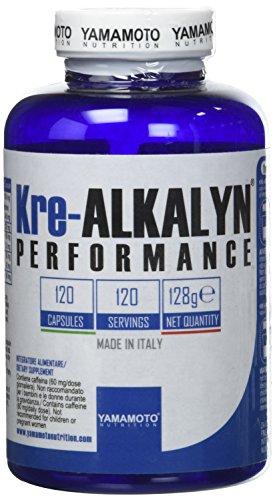 Yamamoto Nutrition Kre-ALKALYN® PERFORMANCE integratore a base di Kre-Alkalyn ed estratti d'erbe 120 capsule
