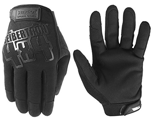 guanti baseball battitore Seibertron Wear Touch Screen Sport Hunting Full Finger all-Weather Tactical Original Military Shooting Gloves Paintball Sniper Gloves for Army Tactical Gear Black M