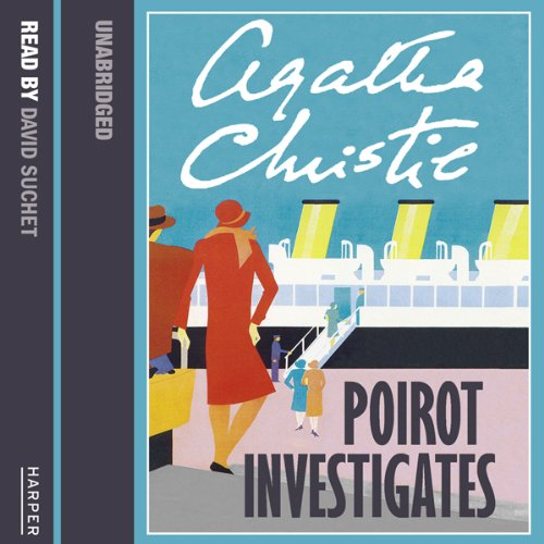 Poirot Investigates audiobook cover art