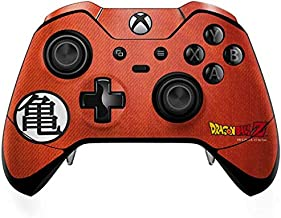 Skinit Decal Gaming Skin for Xbox One Elite Controller - Officially Licensed Dragon Ball Z Goku Shirt Design