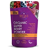 Organic Super Berry Powder 150g - Featured in The Vegan Magazine | Vegan Superfood Blend Supplement |Includes...