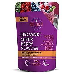 SUPER BERRY POWDER - Ti importa di ciò che accade nel tuo corpo? Presentazione della polvere SuperBerry organica di prossima generazione U: 100% polveri naturali e vegane Superfoods; Una combinazione di 8 super alimenti altamente ricercati di alta qu...
