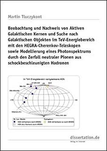 Beobachtung und Nachweis von Aktiven Galaktischen Kernen und Suche nach Galaktischen Objekten im TeV-Energiebereich mit den HEGRA-Cherenkov-Teleskopen ... Hadronen (Dissertation Classic)