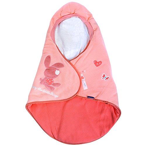Lupilu Babyfußsack Baby Fußsack Winterfußsack Kuschelsack Babydecke Kinderwagen waschbar gut gefüttert rosa