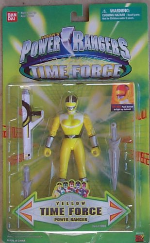 Yellow Time Force Power Ranger