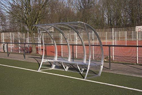 W&H Spielerkabine 'Module' - Tailliert, Breite:4 Meter