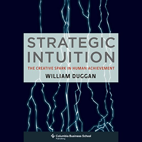 Strategic Intuition audiobook cover art