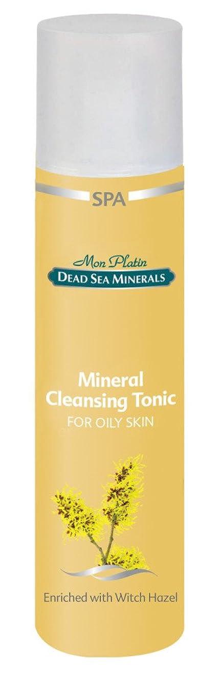 アルバム留まる考え通常から油っぽい肌のための洗顔化粧液 250mL 死海ミネラル Cleansing Tonic for Normal to Oily Skin
